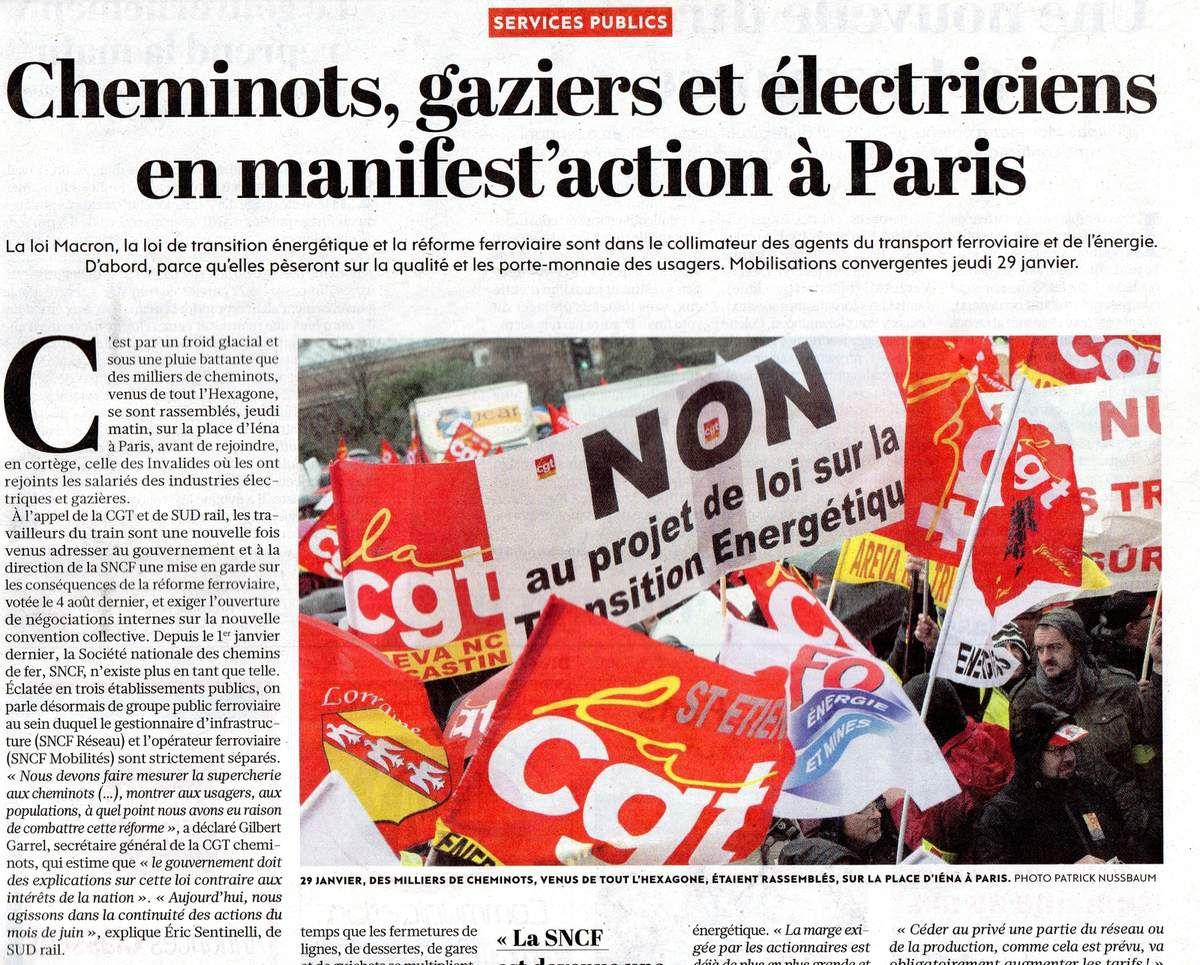 Actions convergentes du 22 juin 2021 pour les services publics du rail et de l'énergie : le reportage de Reporterre