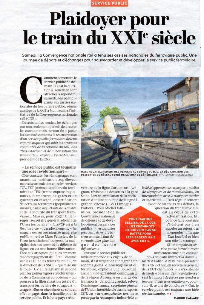 Nouveaux tarifs de la SNCF : l'analyse de l'Humanité