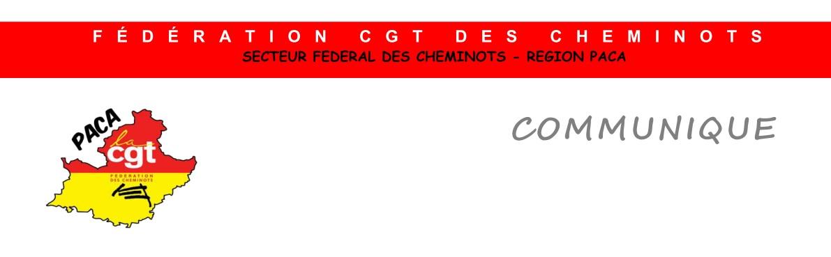 Communiqué des cheminots CGT de la région PACA sur le triage de Miramas