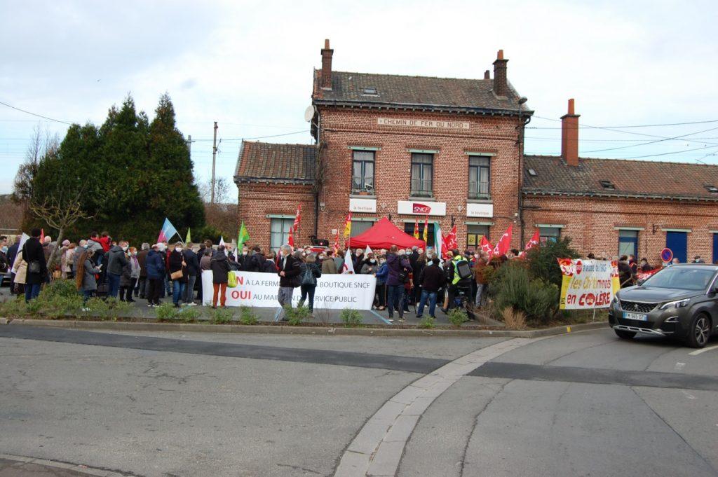 Pétition contre la fermeture des gares de Bonnières, Rosny et Bréval